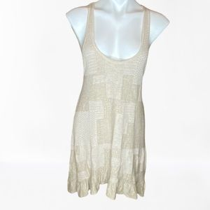 - Knitted&Knotted knit patchwork tank top